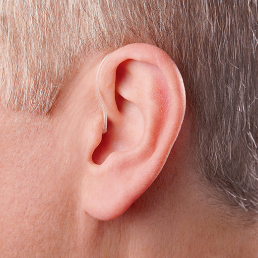 Tinnitus on ear